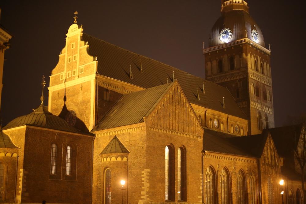 kostol Riga