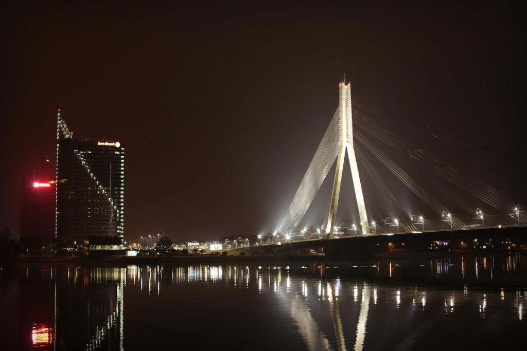 nocne mesto -Riga