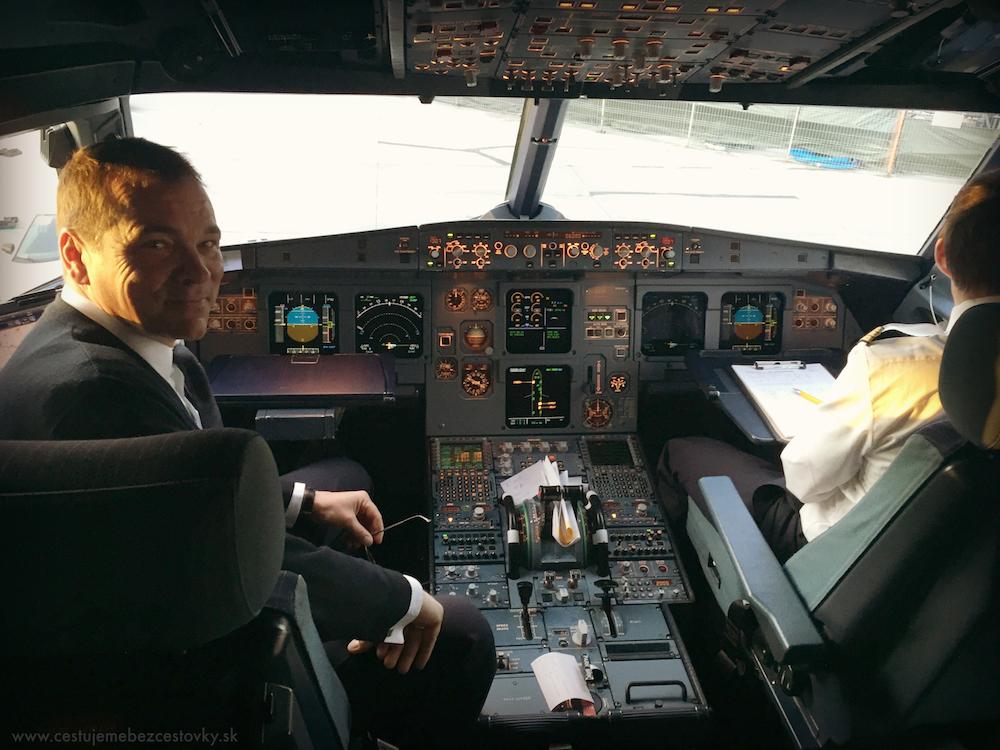 pilot lietadla