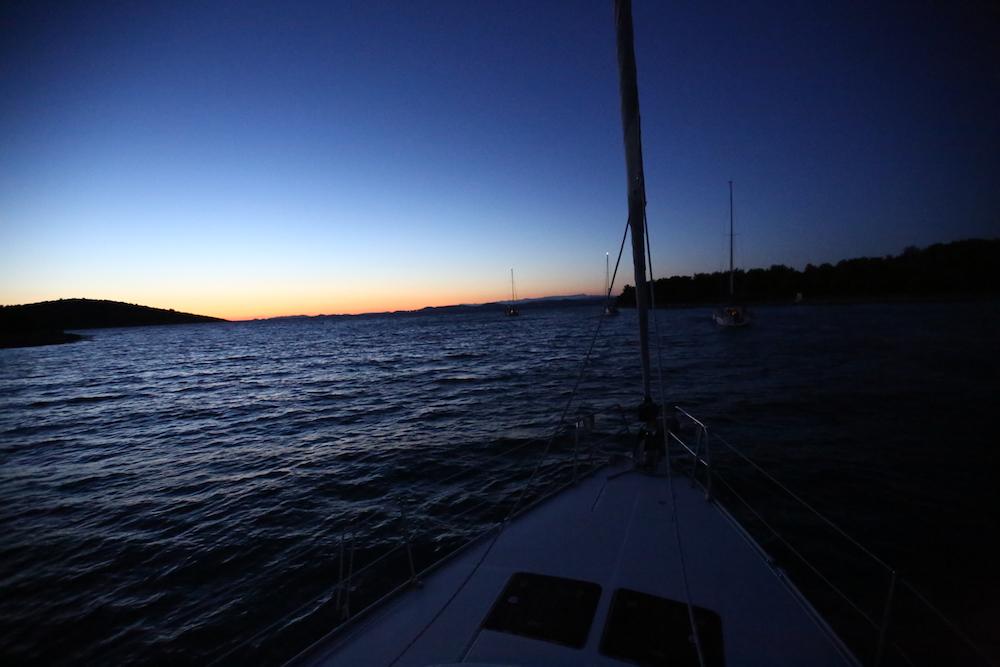 nocna plachetnica